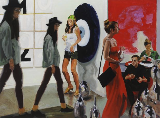 Eric Fischl Art Fair: Booth #1 Play/Care, (2013) Courtesy the Artist, Victoria Miro, London and Mary Boone Gallery, New York