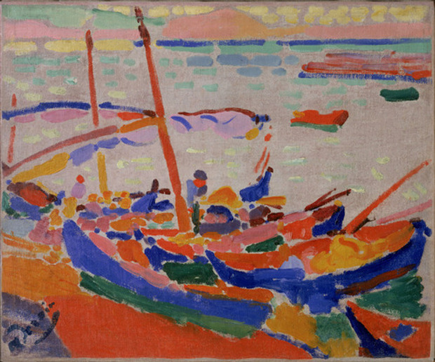 Fishing boats in Collioure (1905) by André Derain