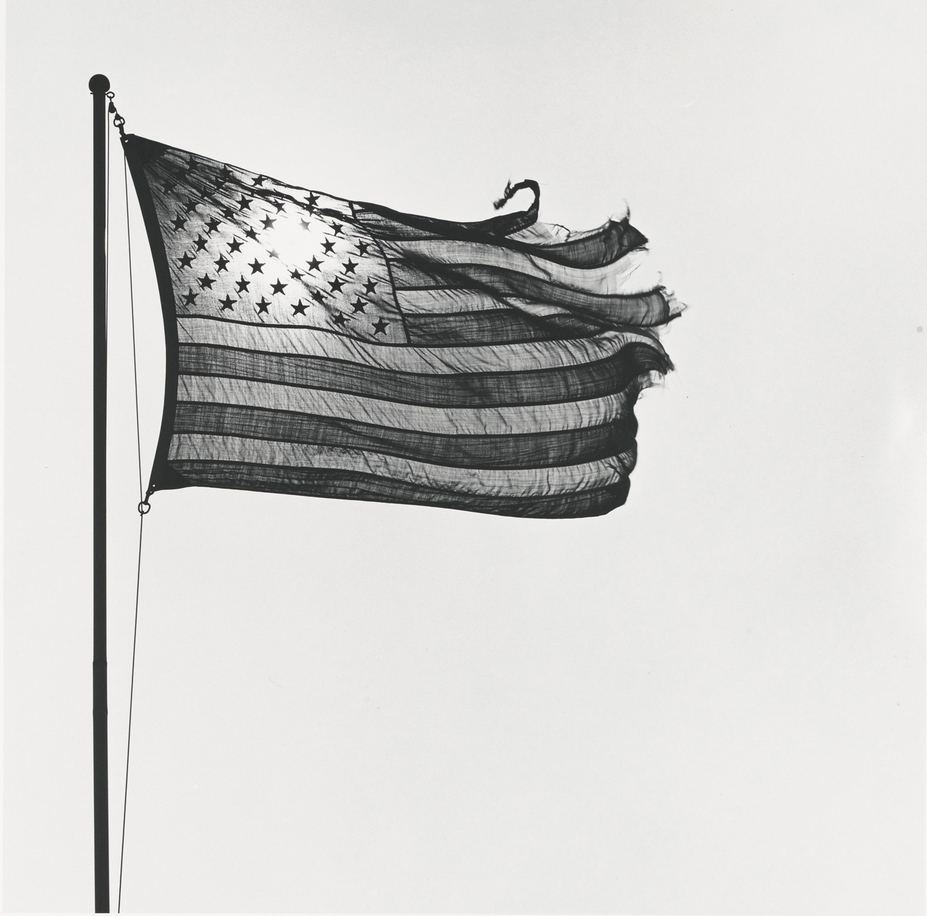 Robert Mapplethorpe's two American Flags