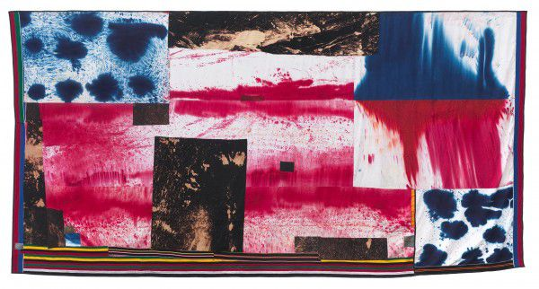 Flag (4791) (2014) by Sterling Ruby - as featured in our Contemporary Artist Series book