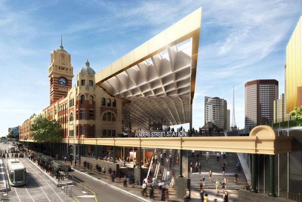Flinders Street Railway Station, Melbourne - NH Architecture