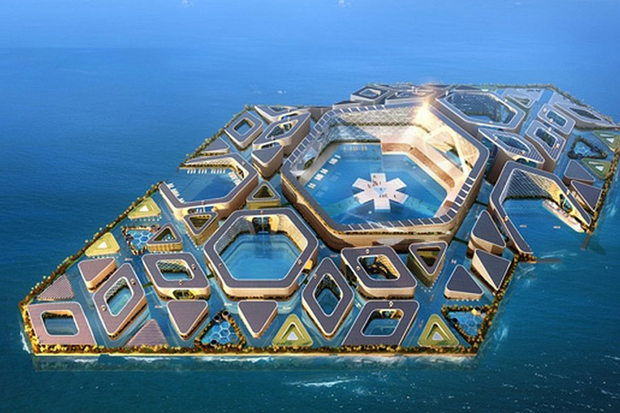 Floating City - AT Design Office