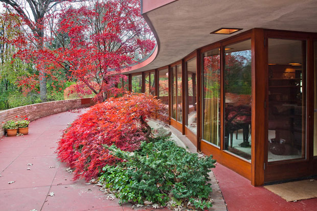 Laurent House, Frank Lloyd Wright (1949)