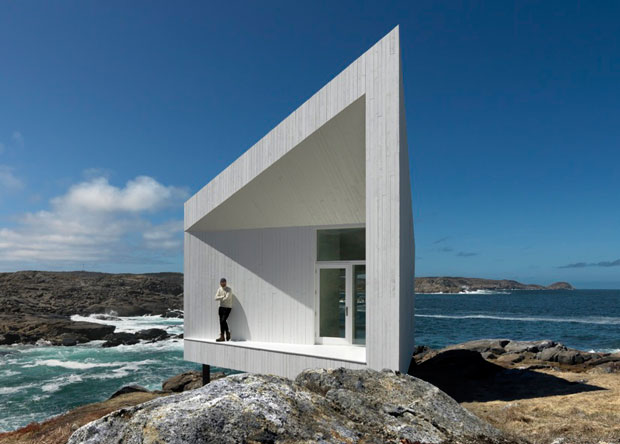 Squish Studios, Fogo Island, Saunders Architects, Photo by Bent René Synnevåg