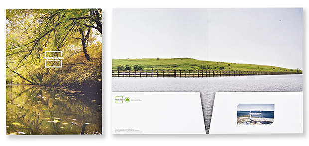 Pentagram's identity for the Natural Areas Conservancy uses Meyerowitz's photography