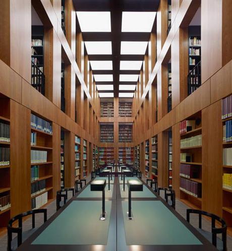 Max dudler makes sweet music library in essen - Architekt essen ...