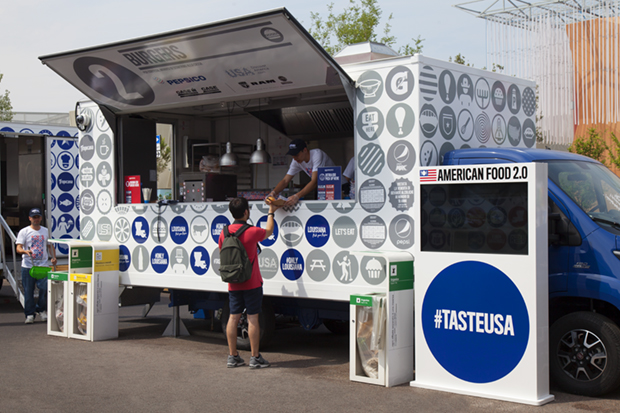 Food Truck Nation at the Milan Expo
