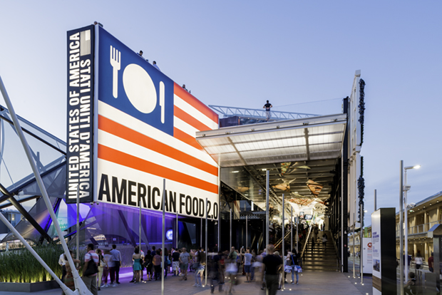 Pentagram's designs at the Milan Expo