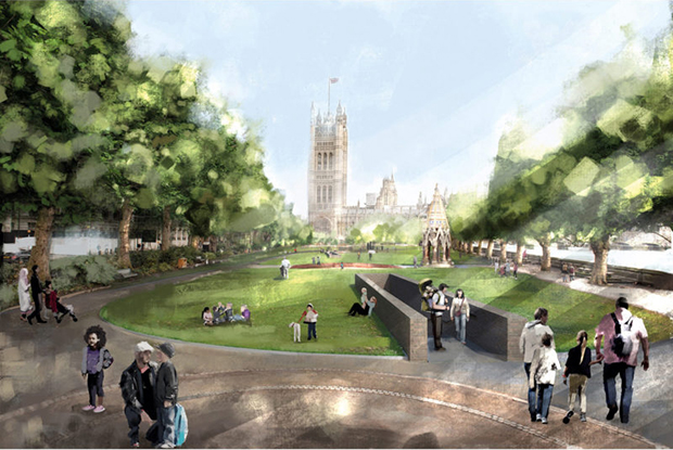 Foster + Partners' submission for the UK Holocaust Memorial
