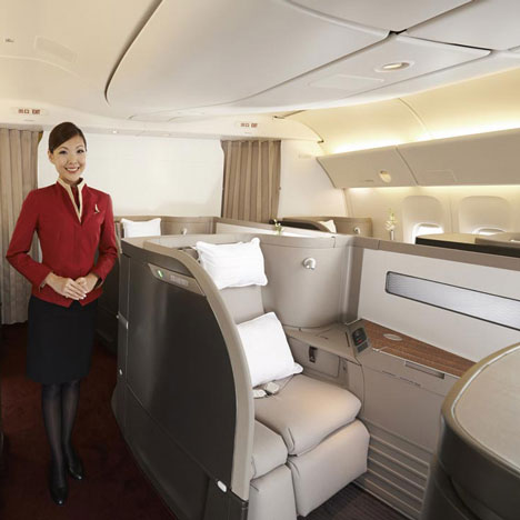 Cathay Pacific First Class - Foster + Partners