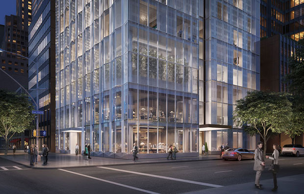 Foster + Partners - One Hundred East Fifty Third Street, Manhattan