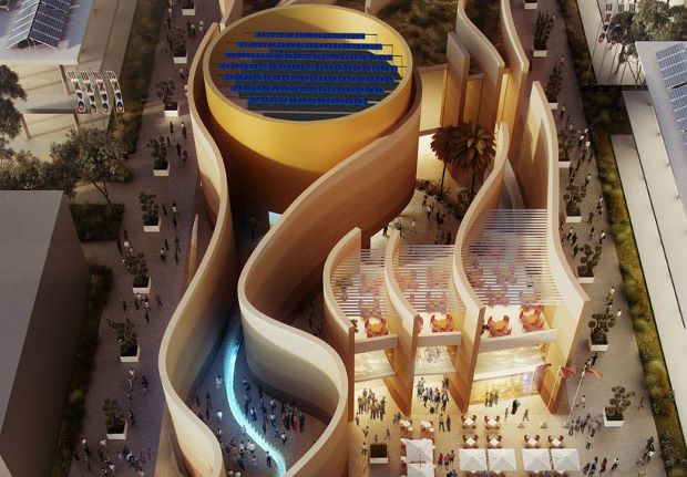 Foster + Partner's designs for the United  Arab Emirates pavilion at the Milan Expo