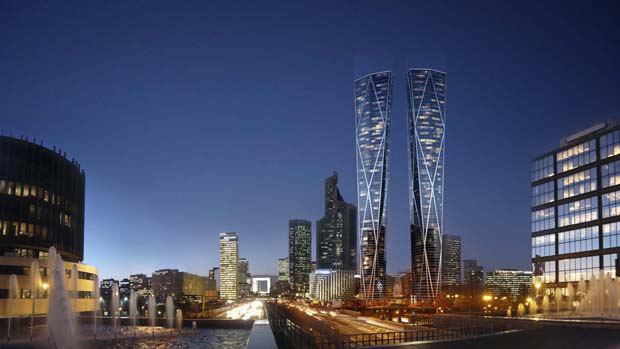 Will Foster's Paris Twin Towers get the go ahead?