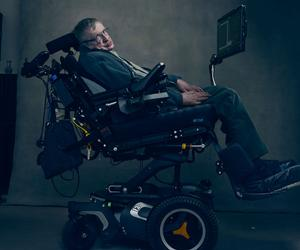 When Annie Leibovitz shot the late Professor Stephen Hawking