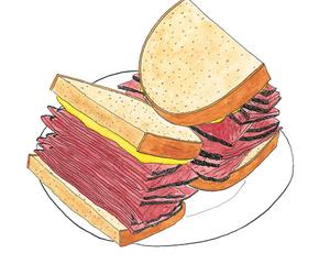 Smart things to say about Signature Dishes: Pastrami Sandwich