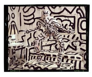 How Annie Leibovitz got Keith Haring to go black and white