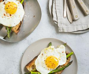The Phaidon Nutri Blast – Parm Butter, Fried Egg and Asparagus Toast