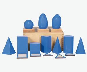 Cool Designs for Cultured Kids – Montessori Geometric Solids