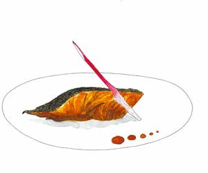 Smart things to say about Signature Dishes: Black Cod with Miso