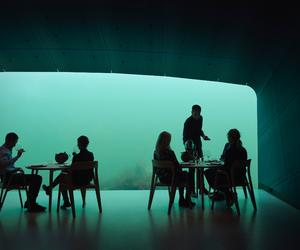 Snøhetta create Europe's first underwater restaurant