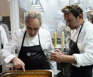 Massimo Bottura and the Adriàs create kitchen alchemy