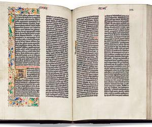 It's the Gutenberg Bible's birthday