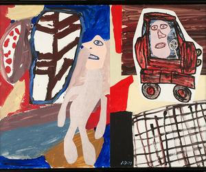 What your fridge has in common with this Jean Dubuffet show