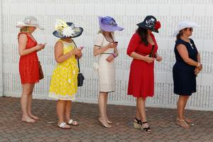 When Martin Parr's luck came in at the Kentucky Derby