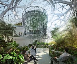 Amazon plants out its Spheres