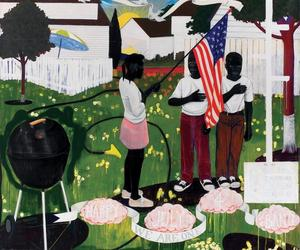 When Kerry James Marshall painted the 4th of July