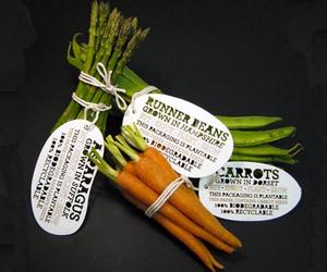 Vegetable packaging you can plant