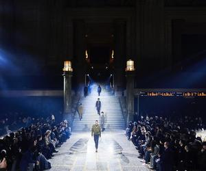 Running late - fashionably late! Alexandre de Betak takes over Milan's Central train station for Men's Fashion Week