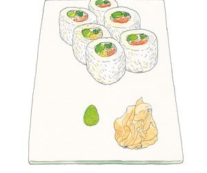 Smart things to say about Signature Dishes: California Roll