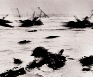 When Robert Capa shot D-Day