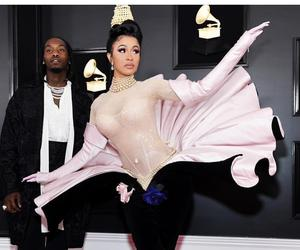 Cardi B wore three Thierry Mugler dresses at the Grammys!
