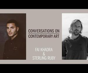 Sterling Ruby, Fai Khadra and Sotheby's celebrate our Contemporary Artist Series