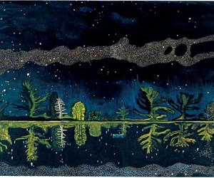 How Peter Doig saw the night sky