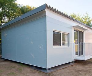 Japanese architect, Shigeru Ban, designs temporary housing for disaster victims