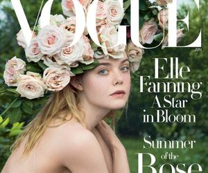 Grace Coddington styles Elle Fanning for Vogue cover