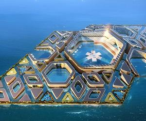 Floating city proposal for China's super rich