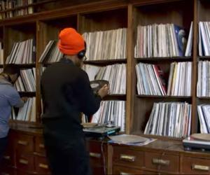 Look at Theaster Gates' incredible record and book collections