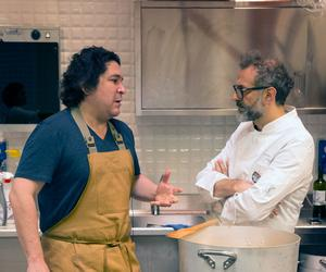 Massimo Bottura and Gastón Acurio create kitchen alchemy
