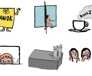 Have you seen Jean Jullien's iPhone stickers for Vogue?