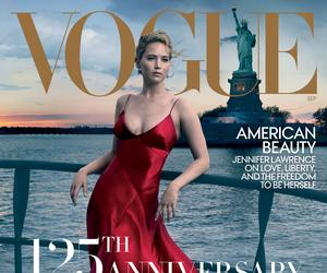 Annie Leibovitz shoots Jennifer Lawrence for Vogue