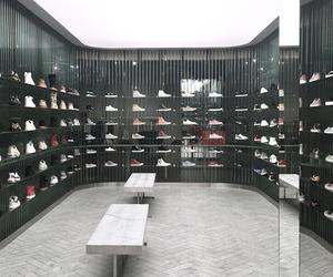 Snarkitecture creates a sneaker shrine for Kith in LA