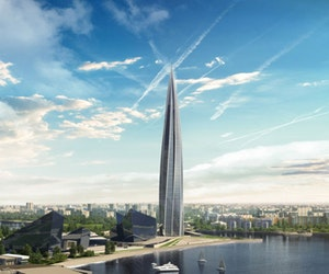 Europe's tallest building is 50 per cent higher than The Shard