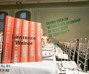 Phaidon and Free Arts NYC honour Lawrence Weiner