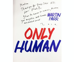 Martin Parr just sent his new book to the queen!