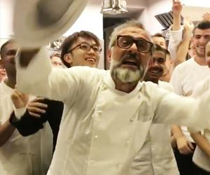 Massimo Bottura and his brigade just broke for the summer