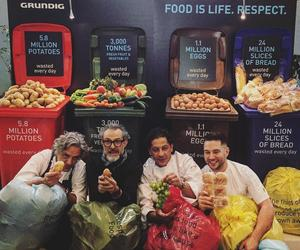 Massimo brings in new faces to combat London's food waste